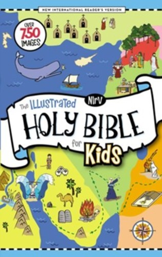 NIrV: Illustrated Holy Bible for Kids, Full Color, Comfort Print: Over 750 Images (HB) (풀칼라 성서관련지도, 포스터 포함)