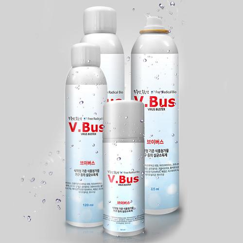V.Bus 브이버스 소독스프레이 살균소독수