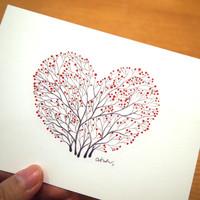 꿈꾸는나무 연필그림 엽서 9종