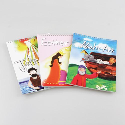 성경인물 어린이노트 - 종합장 단품 (노아,에스더,세례요한)