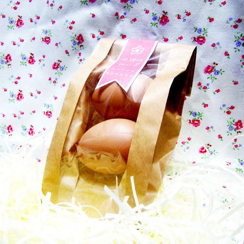 부활절 달걀포장 (2구10매) 크라프트창봉투