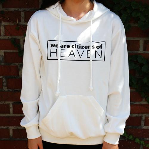 갓피플 후드 티셔츠 - HEAVEN
