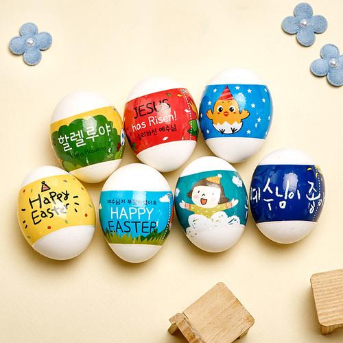 2021 부활절계란포장 수축필름 8종 계란꾸미기 (1세트당 5가지 디자인×6매) 6011