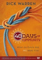 40 Days of Community: A DVD Study (DVD)