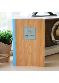 기도노트+성경읽기표-Natural Wood-피터카페