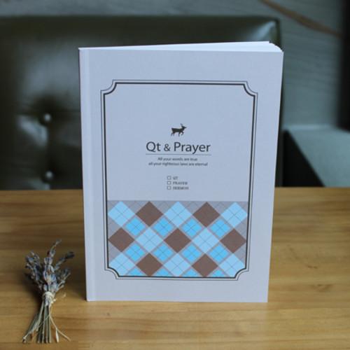 QT&PRAYER-Check Deer(큐티노트+기도노트+설교기록+성경읽기표)-피터카페