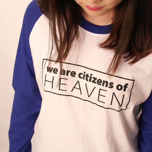 갓피플 나그랑 긴팔 티셔츠- HEAVEN