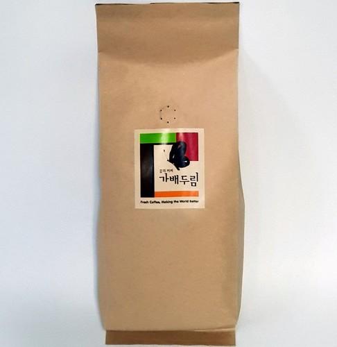 가배두림 브랜드 Ethiopia SIDAMO 에티오피아 시다모 원두 (500g, 볶은원두)