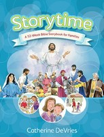 Storytime: A 52-Week Bible Storybook for Families (HB)