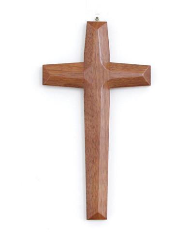 고급 원목 십자가 - 월넛 (소) / K-0081