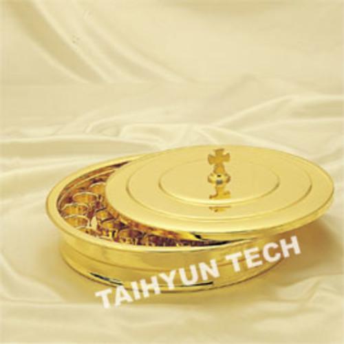 금 성찬기 DAL-45 (밑판 뚜껑 알루미늄컵 세트)