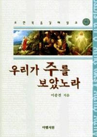 우리가 주를 보았노라 : 요한복음 강해설교 (하)