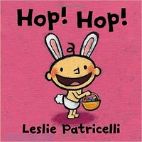 Hop! Hop! (Board Book / Leslie Patricelli Board Books)