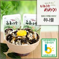 정선사북중앙교회 윤영근 집사의 비빔나물 (취나물)