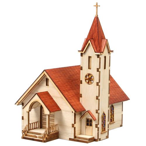 [영공방] HO 웨스턴 교회-2(YM-630)