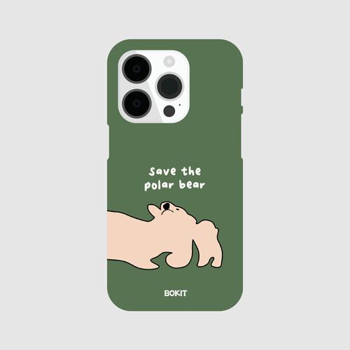 [더사랑 보킷] 폰케이스 북극곰