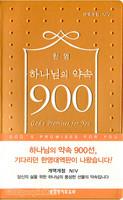 [개역개정판,NIV] 한영 하나님의 약속 900선 (비닐/펄주황)