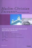 Muslim-Christian Encounter (Vol.8, No.2)