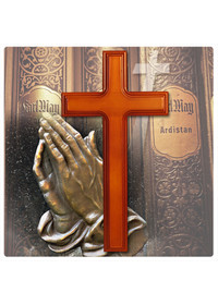 천연원목 십자가