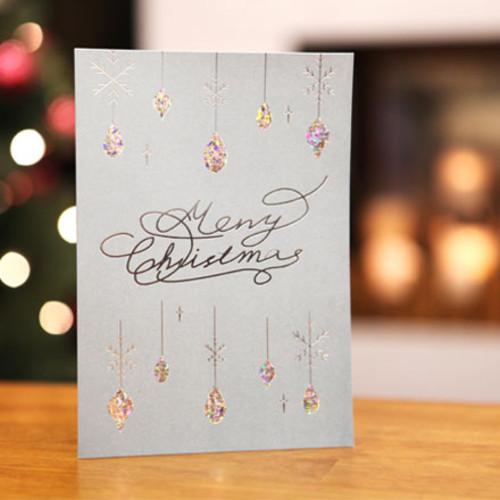 하베스터 크리스마스 카드 - 빛나는 보석