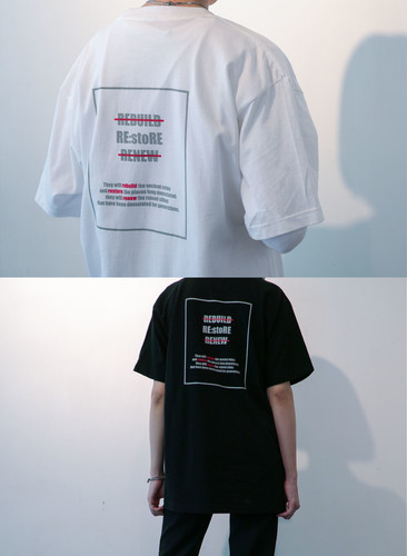 RE:stoRE square box T-shirts