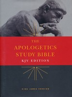 KJV: Apologetics Study Bible, Hardcover (Font 9.75)