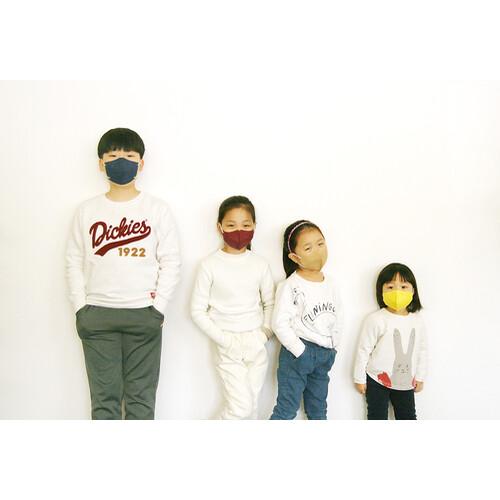 수에코 아동용 소형마스크 5매입 100% 국산소재 숨쉬기편한 새부리형 마스크다 마스크