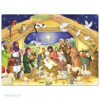 첫걸음 퍼즐 성경 - 아기 예수님