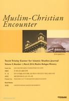 Muslim-Christian Encounter (Vol.9, No.1, March 2016)