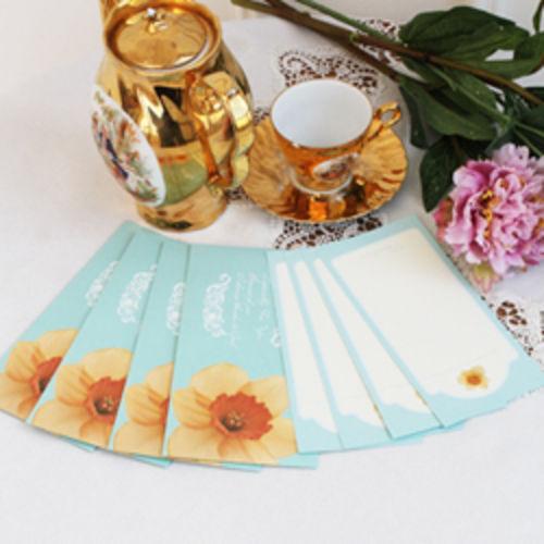 감사봉투&카드-현금+상품권선물-옐로우플라워4set-피터카페