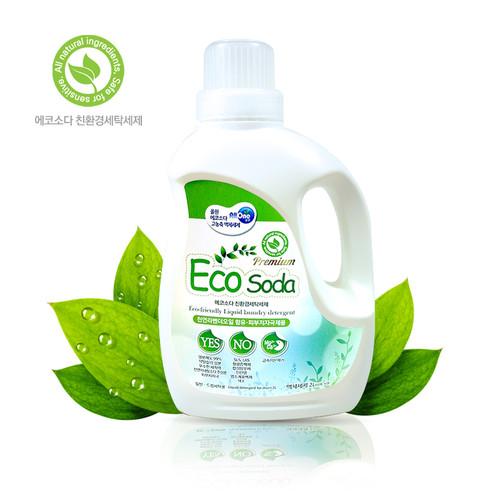 에코소다 고농축 액체세제2L