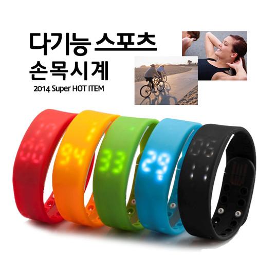 다기능 3D USB 건강 모니터 손목시계