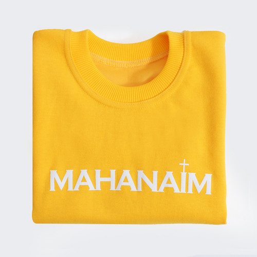 갓피플 맨투맨 티셔츠 - 마하나임 : 하나님의 군사 (아동용_특양면)