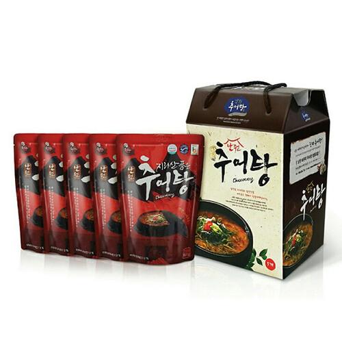 지리산 품은 남원 추어탕 선물세트 (500g*5팩, 10팩)