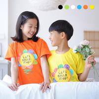 [2019] 교회단체티 Lets Build it up 해바라기 아동 여름성경학교 단체복