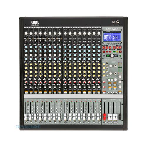 KORG MW-2408 하이브리드 아날로그 디지털 믹서