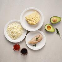 [기로스] 타코 밀키트 세트 (닭가슴살1개 치즈1개 소스2개 타코10개)