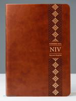 두란노 개정 NIV 영한성경 중 단본(색인/최고급신소재/무지퍼/브라운)