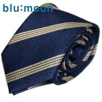 [blu:moon] 블루문넥타이 - 버진로드 네이비옐로우 7cm
