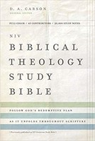 NIV: Biblical Theology Study Bible, Hardcover, Comfort Print (Previously published as NIV Zondervan Study Bible)