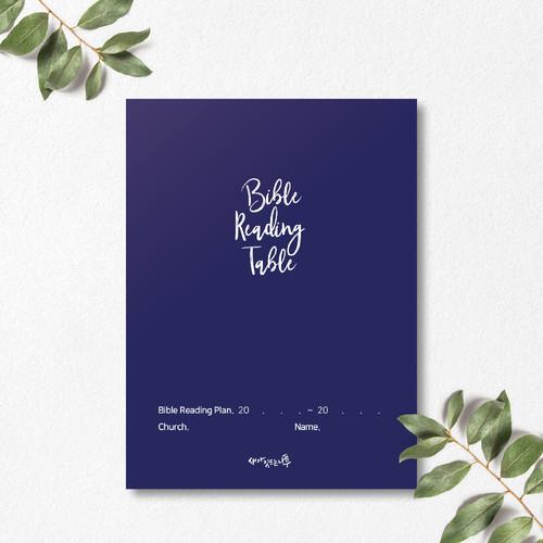 새가깃드는나무 성경읽기표(클래식네이비)-1속 10매