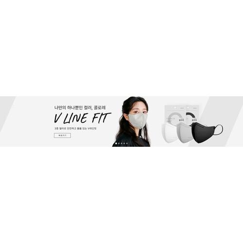 제이퓨어 콜로레 2D 컬러 마스크 편한 패션마스크