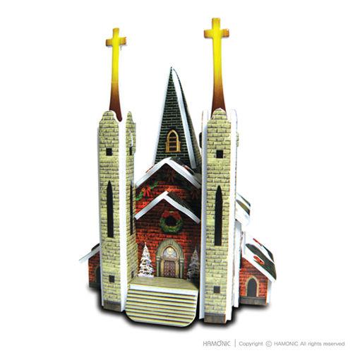 교회마을-성탄교회(입체퍼즐)