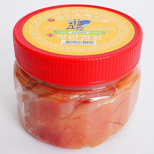 곰소오복식품 명란젓갈(백명란) 500g