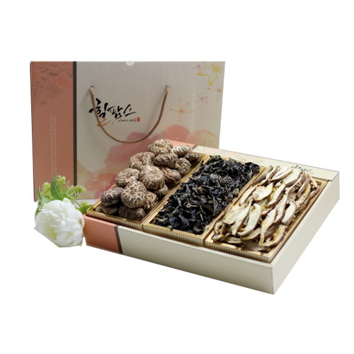 힐팜스 3호 (국산 흑화고100g, 표고슬라이스70g, 목이버섯60g)