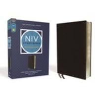 [개정판] NIV Study Bible, Fully Revised Ed., Bonded Leather (가죽판, 검정색)