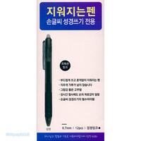지워지는펜 - 검정 (손글씨 성경쓰기 전용/ 1타스 12개입)