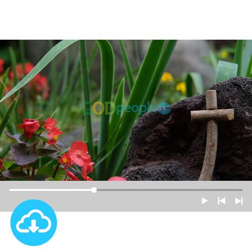 십자가 배경영상 2 by 빛나는시온 / 이메일발송(파일)