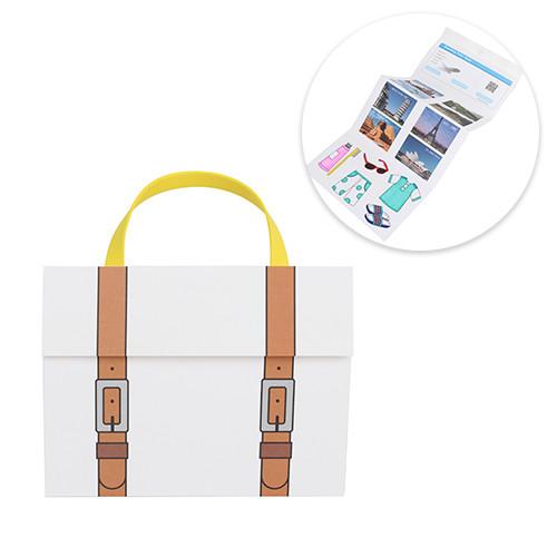 세계여행가방-평면 (5개이상구매가능)