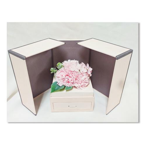 홀마크 카네이션 비누꽃 선물박스-핑크꽃